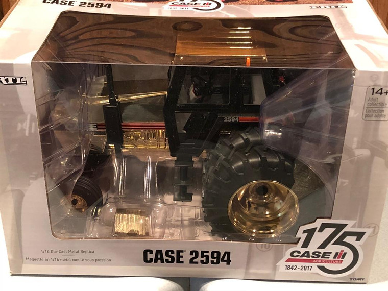 Ertl Case IH 175th Anniversary 2594 1/16 scale with Duals Gold Chrome Edition
