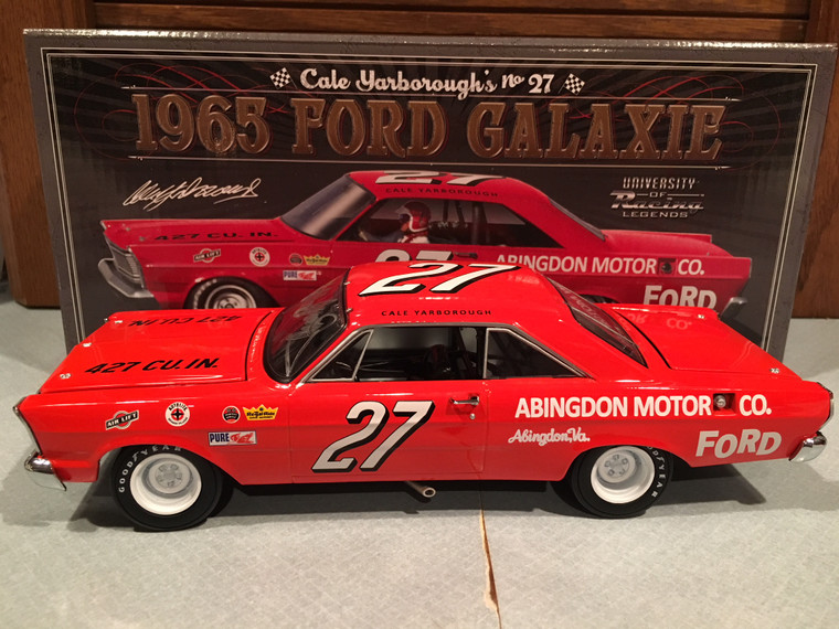 Autographed 1965 Cale Yarborough #27 Ford Galaxie 1/24