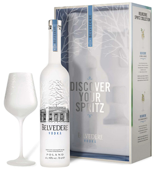 BELVEDERE DISCOVER YOUR SPRITZ GIFT BOX 70cl