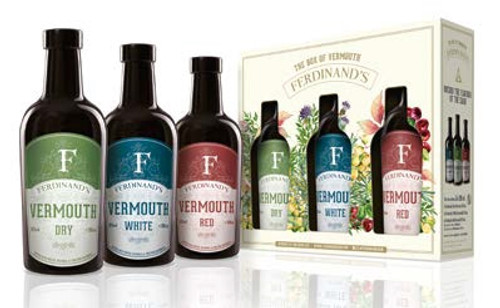 FERDINAND'S BOX OF VERMOUTH 3x20CL