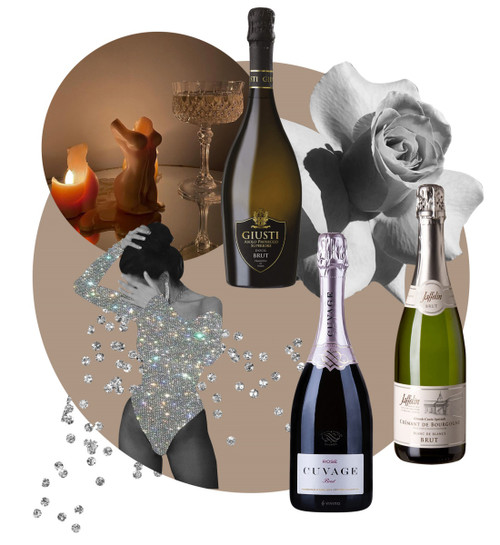 FOR THE LOVE OF BUBBLES WINE SET (6 sparkling wines)