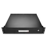 iStarUSA Accessory WA-DWR2UB 2U Sliding Drawer with Key Lock Brown Box