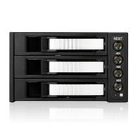 iStarUSA BPU-230SATA-SILVER 2x5.25-3x3.5 SATA Cage-Silver
