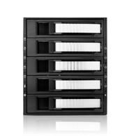 iStarUSA BPU-350SATA-SILVER 3x5.25-5x3.5 SATA Raid Cage