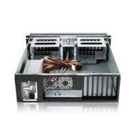 iStarUSA STAR300 3U Compact Rackmount Chassis with 350W PSU Rails24