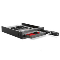 iStarUSA T-35K25V-SA 3.5inc to 2.5inch HDD Cage Anti-vibr