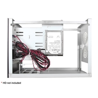 iStarUSA S-35-3DE1BK Compact 3x 3.5in Hotswap mini-ITX Tower Black