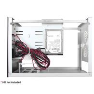 iStarUSA S-35-B4SL Compact 4x 3.5in Hotswap mini-ITX Tower Silver