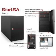 iStarUSA S-917 Compact Stylish 7x 5.25in Bay mini-ITX Tower
