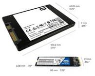 """WD Blue WDS250G2B0A 250 GB 2.5"""" Internal Solid State Drive"""