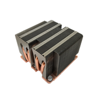 Dynatron B12 Aluminum Heatsink, Copper Base with Heatpipes Embedded
