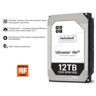 HGST 0F30146 12TB 7200RPM 256MB Cache SATA 6.0Gb/s 3.5 SATA 512E SE Internal Hard Drives