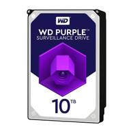 """WD WD101PURZ Purple 10TB Surveillance 7200RPM Class SATA 6 Gb/s 256MB Cache 3.5"""" Internal Hard Drive"""