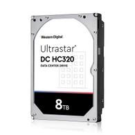 """WD 0B36404 8TB Ultrastar DC HC320 HUS728T8TALE6L4 7200RPM 3.5"""" Internal HDD"""