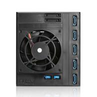iStarUSA BPN-DE350HD-BLACK Trayless 3X 5.25 to 5X 3.5 12Gb/s HDD Hot-swap Rack
