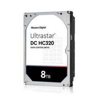 """WD HUS728T8TAL5204 Ultrastar DC HC320 0B36400 8TB 3.5"""" SAS 7200RPM 512e Hard Drive"""