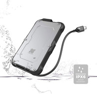 Titanium One Portable External SSD 4TB USB 3.2 Gen 2 IP66 Water/Dust/Shock Proof for PC Laptop Mac Android Game Console