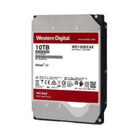 """WD WD100EFAX Red 10TB NAS 5400RPM SATA 6 Gb/s 256 MB 3.5"""" Hard Drive"""