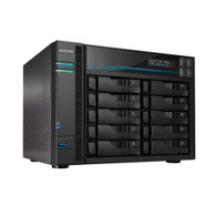 Asustor AS6510T Lockerstor 10 Enterprise 2.1GHz Quad-Core 10-Bay Diskless NAS