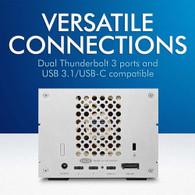Lacie STGB16000400 2Big Dock 16TB RAID Thunderbolt 3 7200RPM External Hard Drive