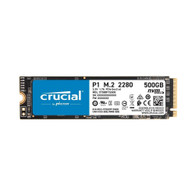 Crucial CT500P1SSD8 P1 500GB 3D NAND NVMe PCIe M.2 Solid State Drive