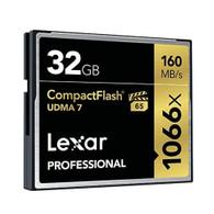 Lexar LCF32GCRBNA1066 Professional 1066x 32GB VPG-65 CompactFlash Memory Card