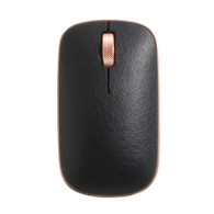 Azio RM-RCM-L-03 Retro Classic Mouse (Artisan) - Bluetooth & RF Wireless Mouse with Leather Surface