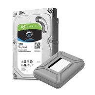 "AAAwave Portable 3.5"" HDD Storage Case Cover included and compatible with ST2000VX008 2TB Hard Drive"