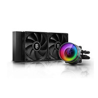 DEEPCOOL CASTLE 240 EX Addressable RGB AIO Anti-Leak Technology Inside Cable Controller Liquid CPU Cooler