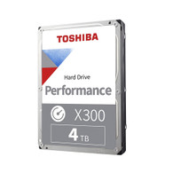 "Toshiba HDWE140XZSTA X300 4TB 7200RPM 128MB SATAIII 3.5"" Internal Hard Drive"