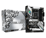 ASRock B550 STEEL LEGEND Supports AMD AM4 Processors Motherboard