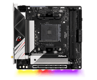 ASRock B550 PHANTOM GAMING-ITX/AX Supports 3rd Gen AMD AM4 Ryzen/Future AMD Ryzen Processors Motherboard