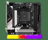 ASRock B550 PHANTOM GAMING-ITX/AX Supports 3rd Gen AMD AM4 Ryzen/Future AMD Ryzen Processors Motherboard