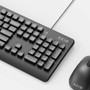 Azio KM535 Antimicrobial USB Keyboard and Mouse Combo