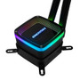 Enermax ELC-AQF120-SQA Aquafusion 120 Addressable RGB All-in-One CPU Liquid Cooler Intel/AMD 115x/2066 AM4 Ready AIO ARGB LED Cooling w/ SquA RGB PWM Fan