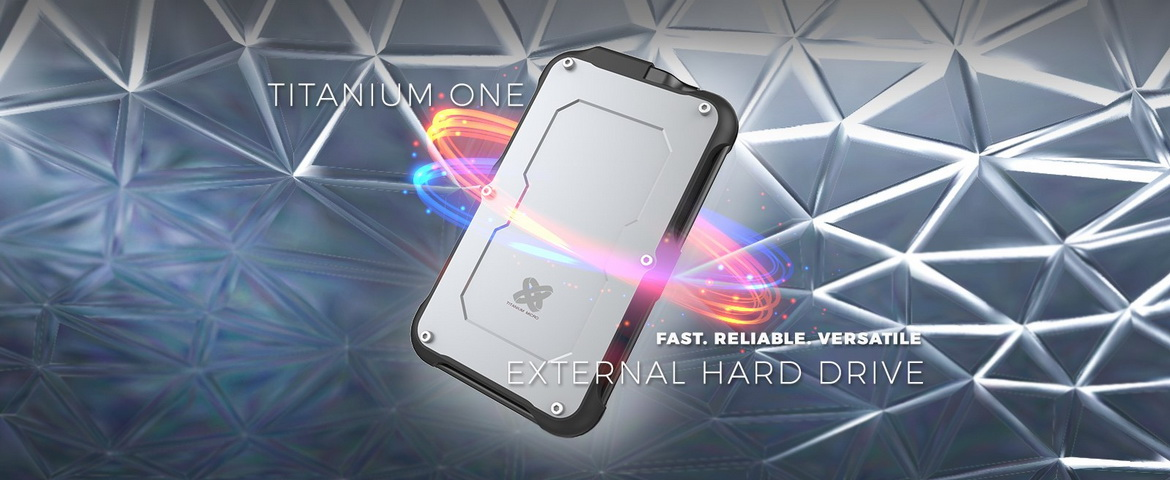 Titanium One rugged designed ssd