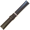 Black Oil Tan Leather Watch Band | Hadley Roma MS881