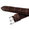 Dunthorp Statesman Dark Brown Alligator Watch Strap - Image 2