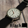 Black 3 Ring Ballistic Strap | The Watch Prince