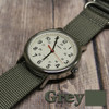 Grey 3 Ring Ballistic Strap| The Watch Prince