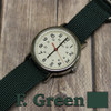 Dark Green 3 Ring Ballistic Strap | The Watch Prince