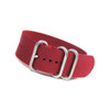 Burgundy 3-Ring Ballistic Strap (Solid Colors)