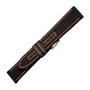 Genuine Kevlar Watch Band with Orange Stitching | Hadley-Roma MS848