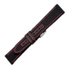 Genuine Kevlar Watch Band with Red Stitching | Hadley-Roma MS848