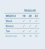 Hadley Roma MS2012 | Sizing Information