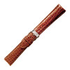 Tan Hadley-Roma Alligator Sides Watch Band | MS2010