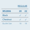 Size Information | MS2006