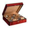 Venlo Triple Birlwood Collection (12 Watch Case)
