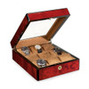 Venlo Triple Birlwood Collection (9 Watch Case with Window)