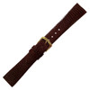 Burgundy Genuine Java Lizard Watch Band | Hadley-Roma MS700